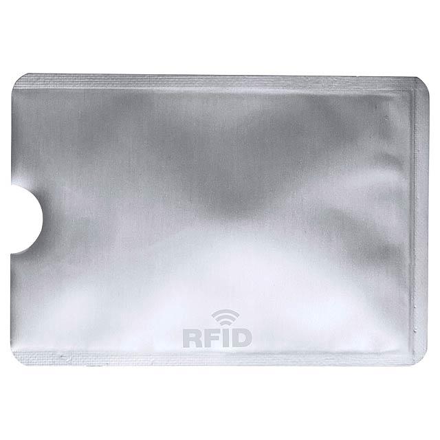Becam obal na kreditní karty - stříbrná