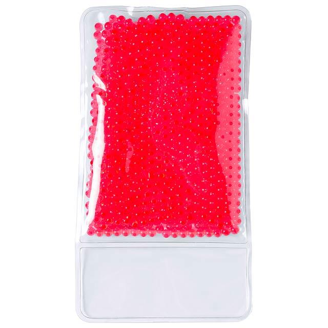Debbly tepelný-chladící polštářek - červená