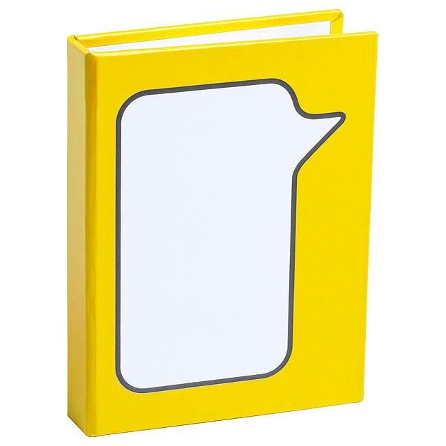 Dosan samolepící lístky - žlutá