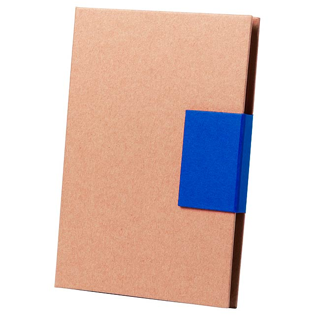 Ganok blok se samolepícími lístky - modrá
