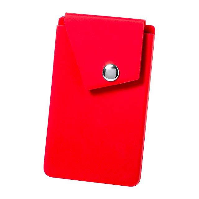 Lepol pouzdro na karty - červená