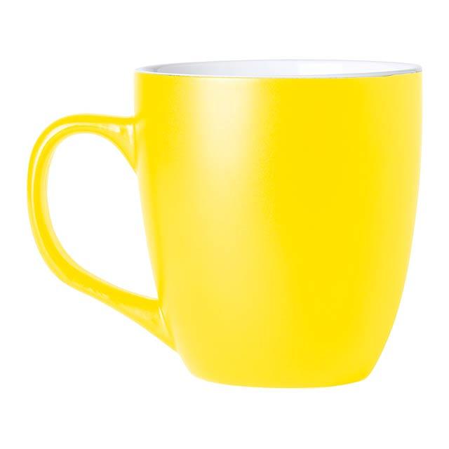 Mabery hrnek - žlutá
