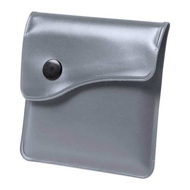 Berko kapesní popelník - stříbrná