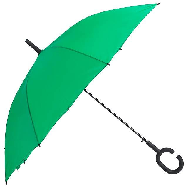 Halrum deštník - zelená