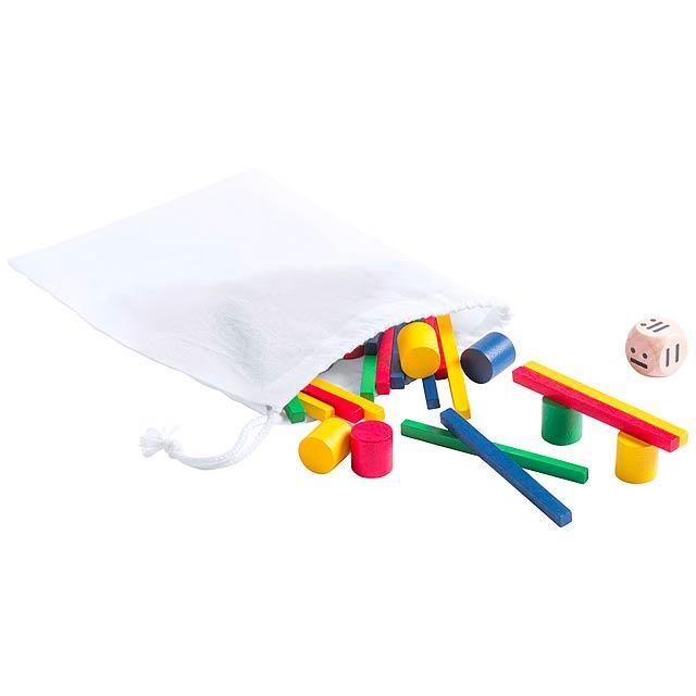 Dokym hra skládačka - multicolor