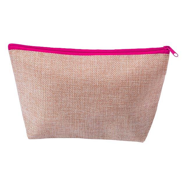 Conakar kosmetická taška - fuchsiová (tm. růžová)