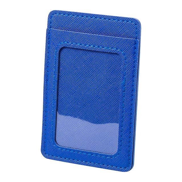 Besing pouzdro na karty - modrá