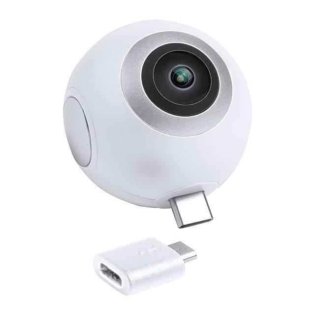Ribben 360° kamera - bílá