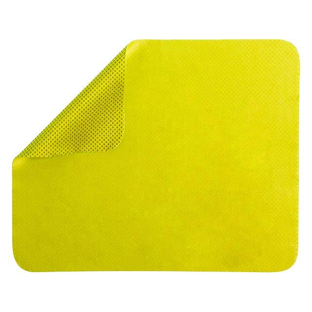 Serfat podložka pod myš - žlutá