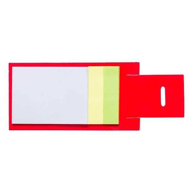 Novich blok - červená