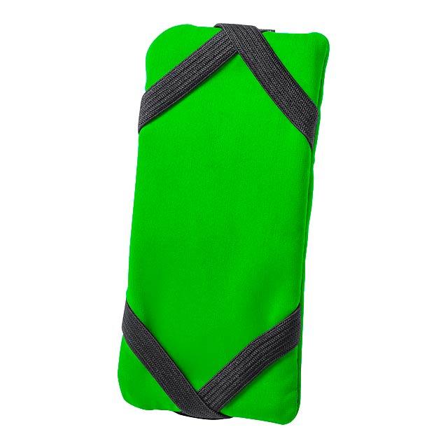 Donic peněženka se stojánkem na mobil - zelená