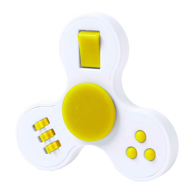 Fredd spinner - žlutá