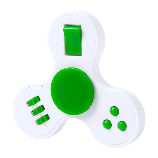 Fredd spinner - zelená