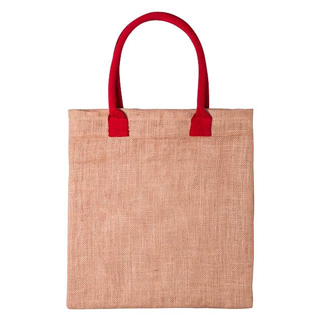Kalkut nákupní taška - červená