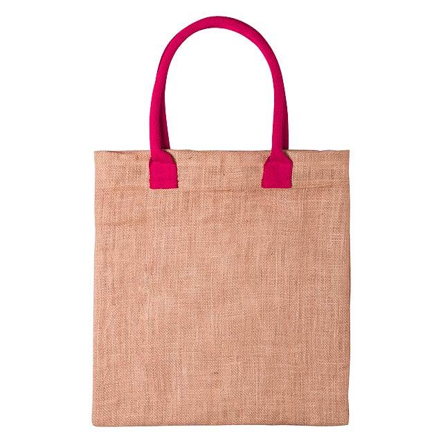 Kalkut nákupní taška - fuchsiová (tm. růžová)