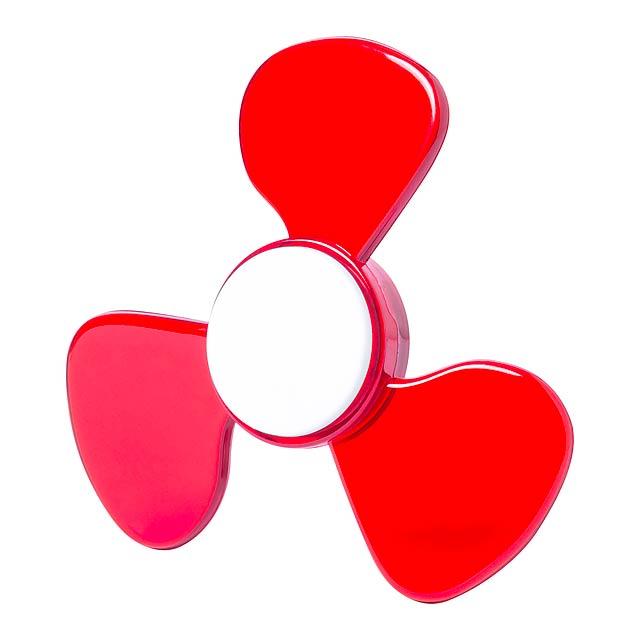 Bolty spinner - červená