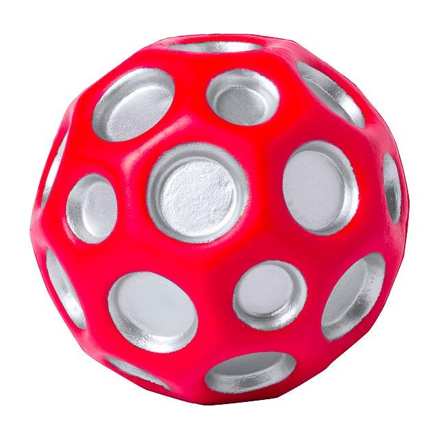 Kasac antistresový míč - červená
