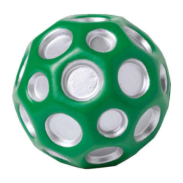 Kasac antistresový míč - zelená