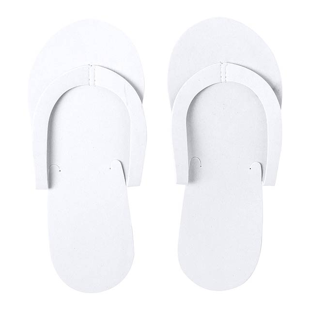 Yommy - beach slippers - white