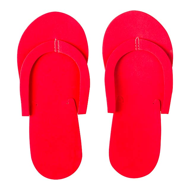 Yommy - beach slippers - red