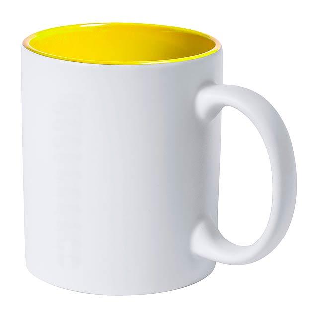 Kulmer hrnek - žlutá