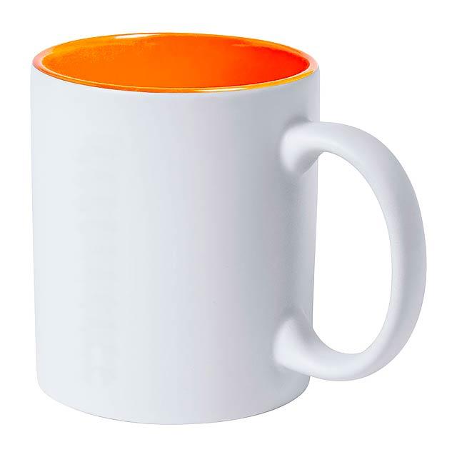 Kulmer hrnek - oranžová
