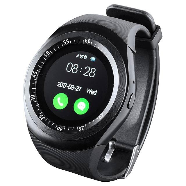 Kirnon chytré hodinky - černá