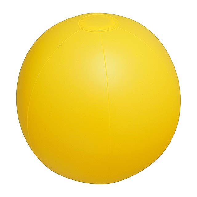 Playo plážový míč (ø28 cm) - žlutá