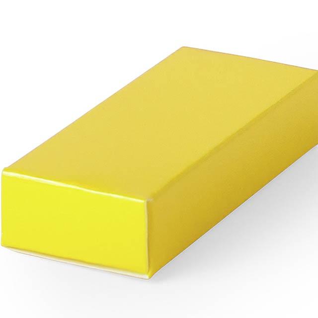 Halmer dárková krabička - žlutá