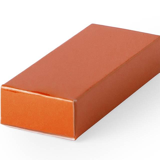 Halmer dárková krabička - oranžová