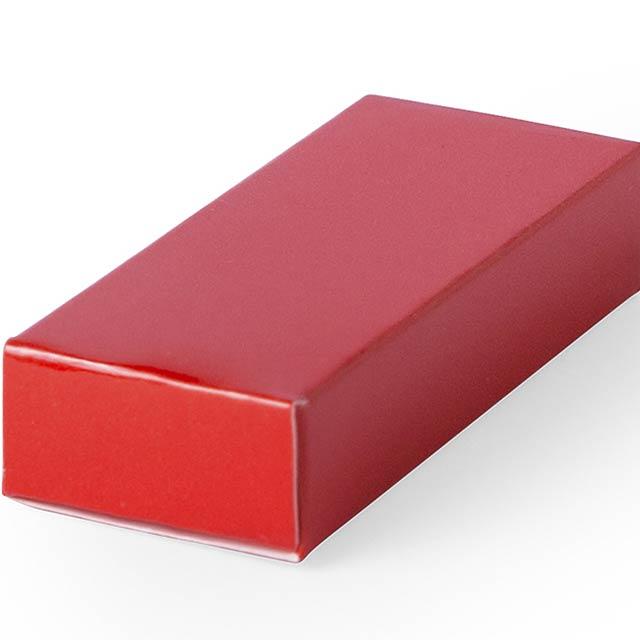 Halmer dárková krabička - červená