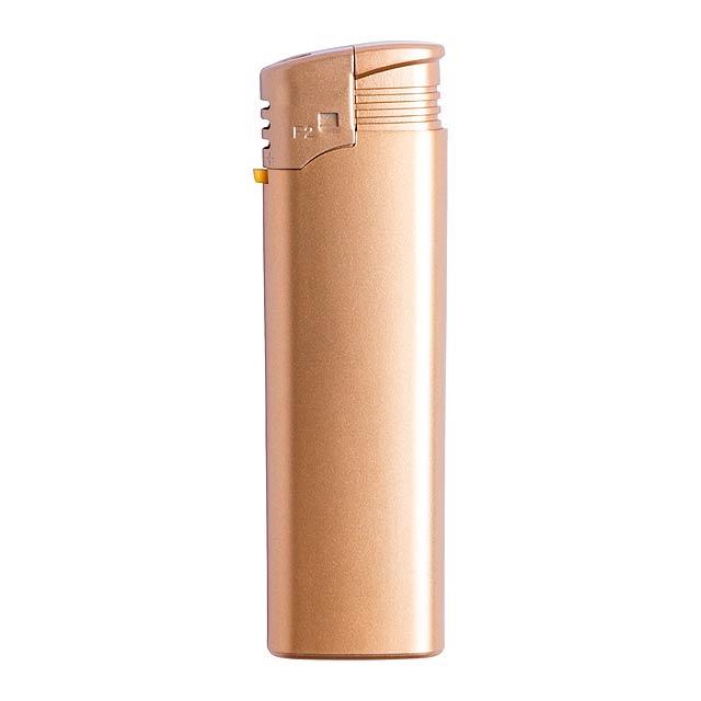 Ronels zapalovač - zlatá