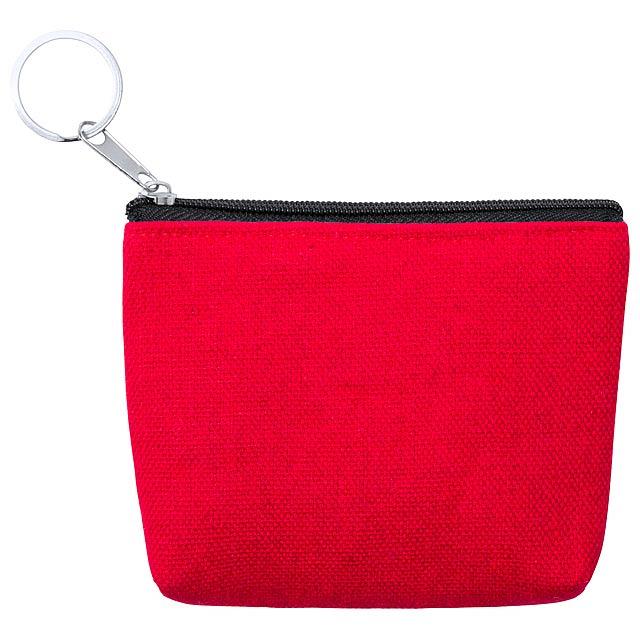 Kaner peněženka - červená