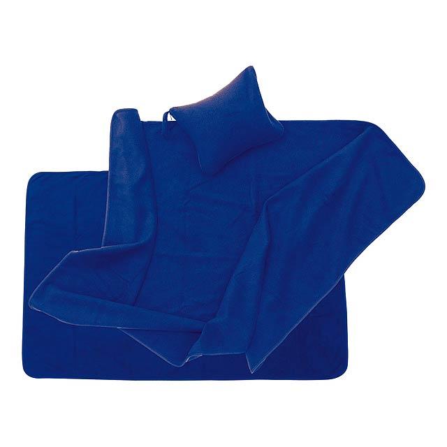 Yelmo přikrývka - modrá