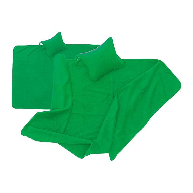 Yelmo přikrývka - zelená