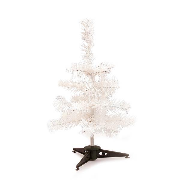 Pines vánoční strom - bílá