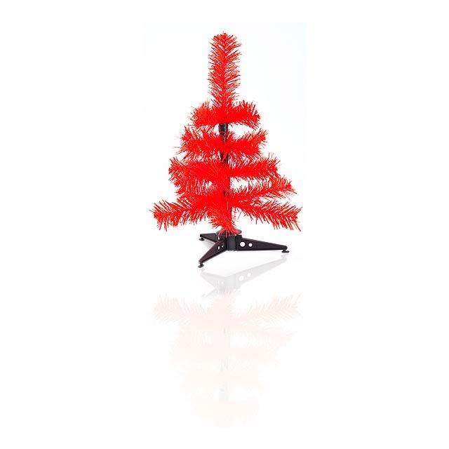 Pines vánoční strom - červená