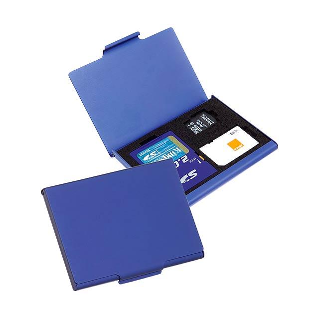 Digit paměťová karta - modrá