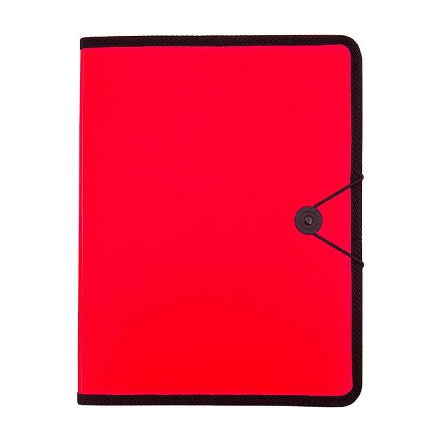 Columbya složka na dokumenty - červená