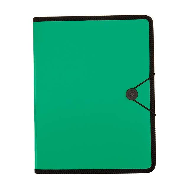 Columbya složka na dokumenty - zelená