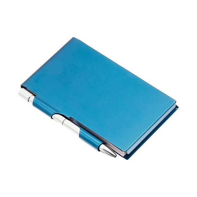 Serim poznámkový blok - modrá