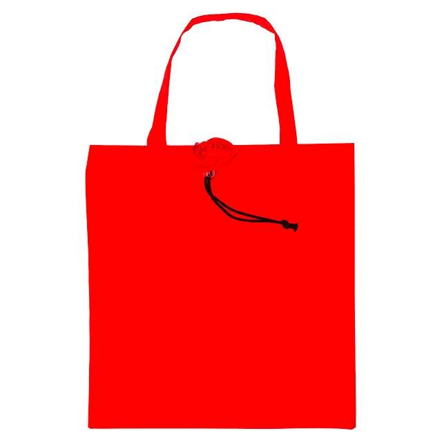 Rous skládací nákupní taška - červená