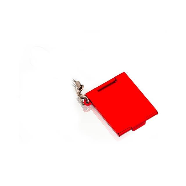 Daisy zrcátko - červená
