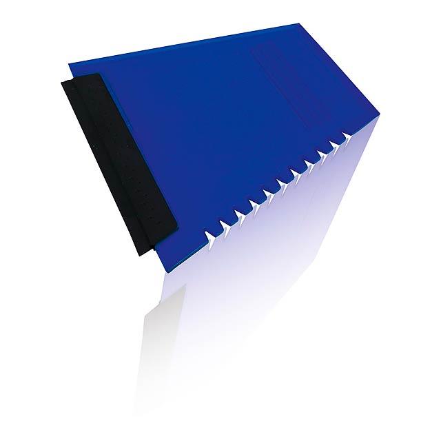 Baira škrabka na led - transparentní modrá