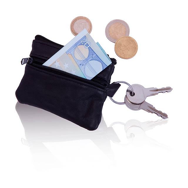 Trizip peněženka - černá