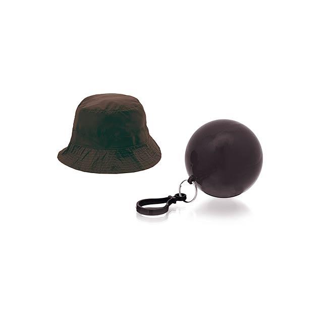 Telco klobouk - černá