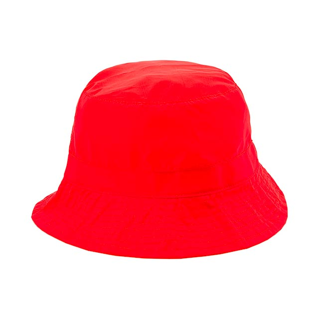 Barlow klobouk - červená