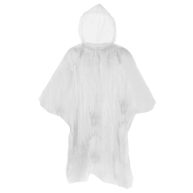 Remo pláštěnka pončo - bílá
