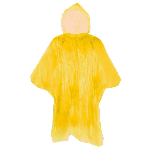 Remo pláštěnka pončo - žlutá