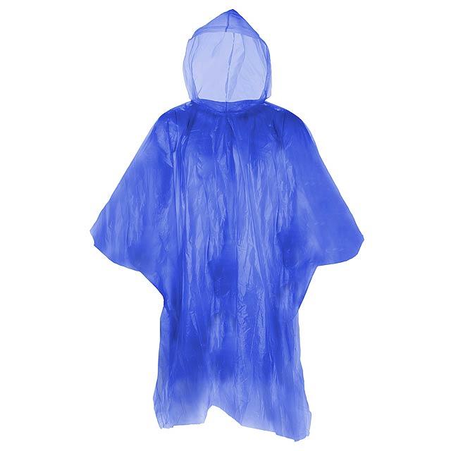 Remo pláštěnka pončo - modrá